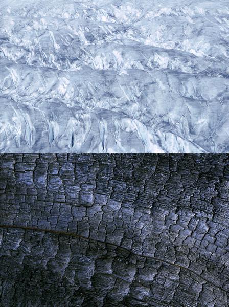 Blanc et noir, Photograph, C-Print on aluminium, 2001, Edition 3/10, 154x115cm, 6'500.- CHF