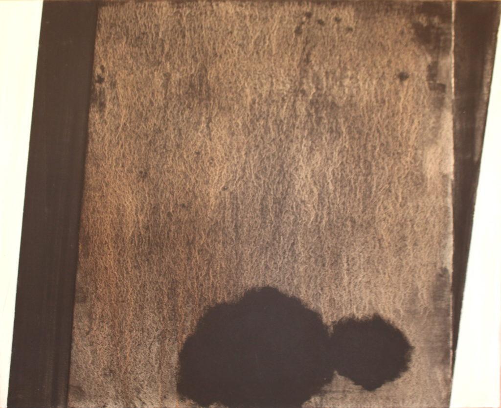 Le temps s'en va, Oil on canvas, 100x81cm, 2003, 5'000.- CHF