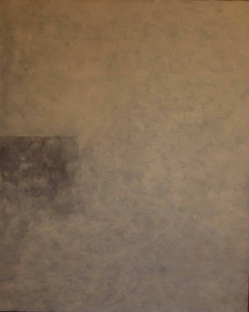 Brume, Oil on canvas, 81x65cm, 2006, 4'500.- CHF