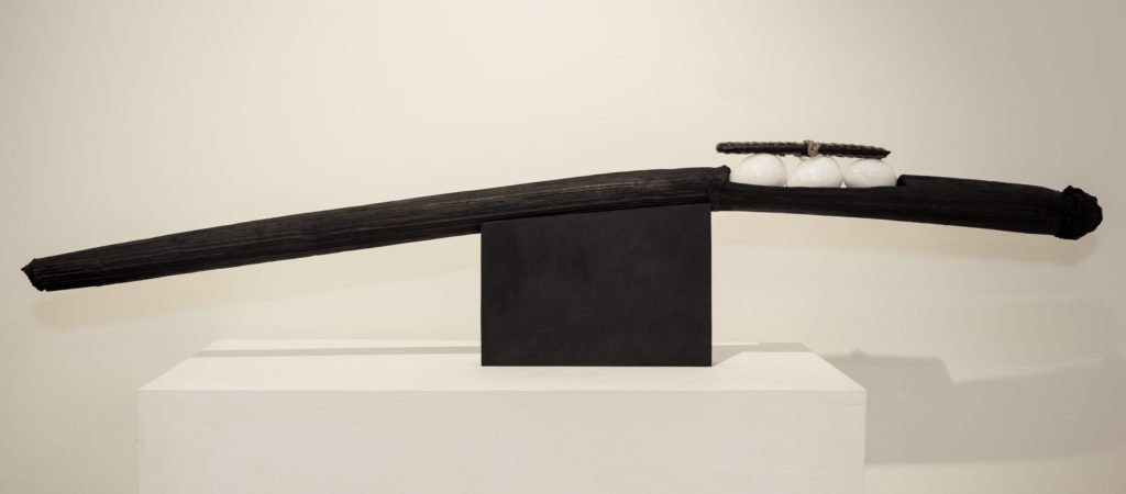 Sculpture, Bronze & Marble, 150cm, 13'000.-