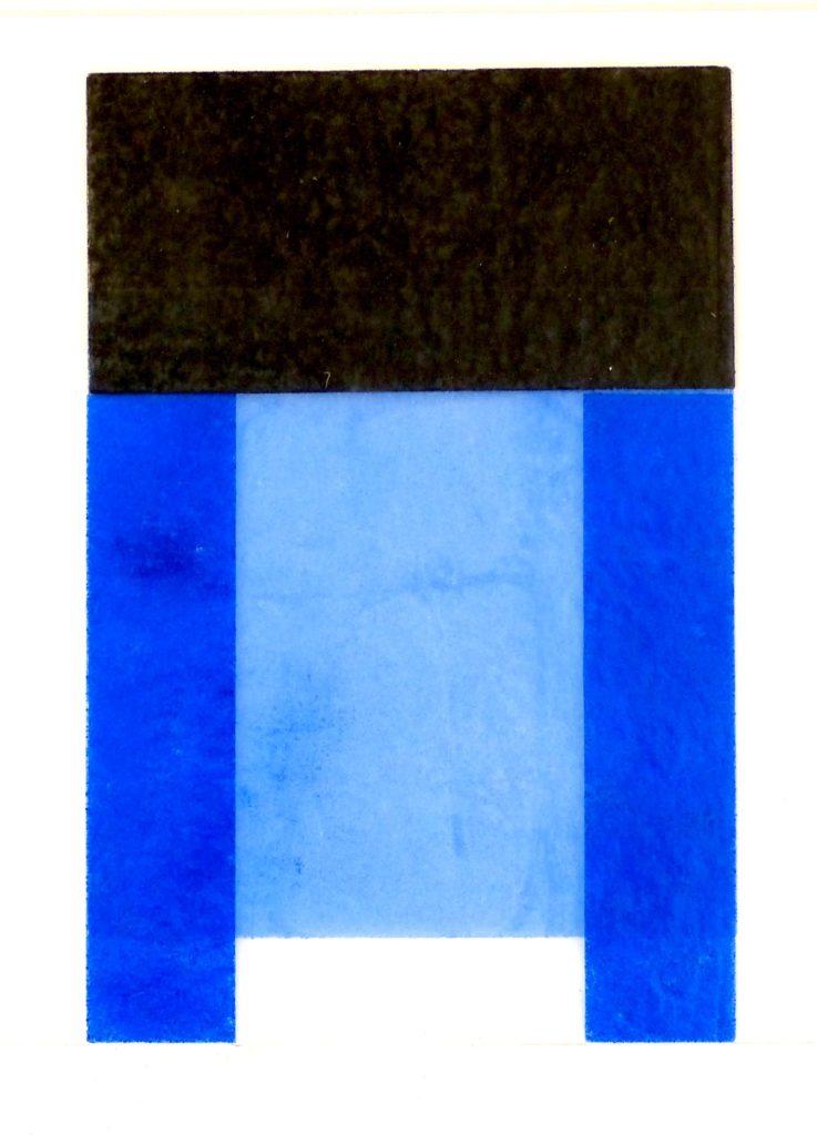 Suite en bleu, 64x51cm, 1'600.- CHF