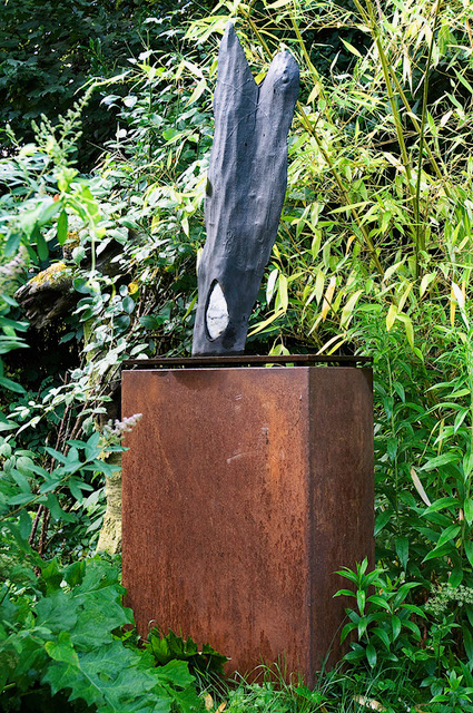 Sculpture, Bronze & Marble, 80cm, 14'000.-