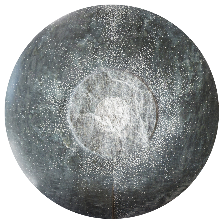 Cosmos 2, Verso, Serpentine, Diam 32cm / 3cm, 6'500.- CHF