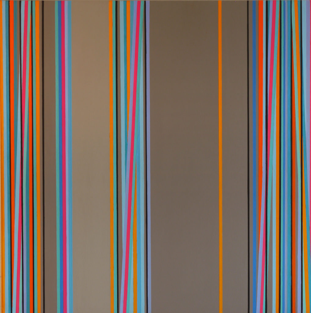 Untitled, Acrylic on canvas, 100x100cm, 4'000.- CHF