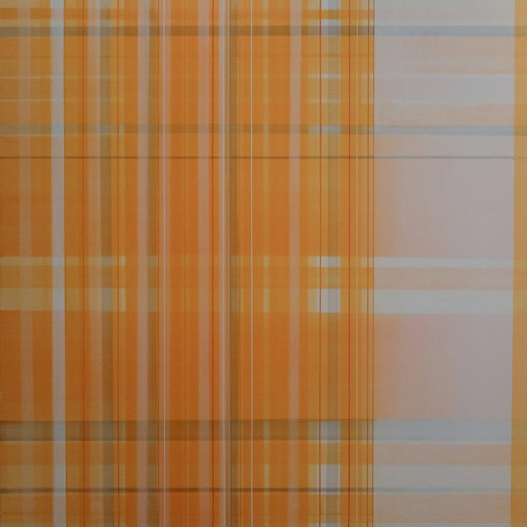 Untitled, Acrylic on canvas, 70x70cm, 2'500.- CHF