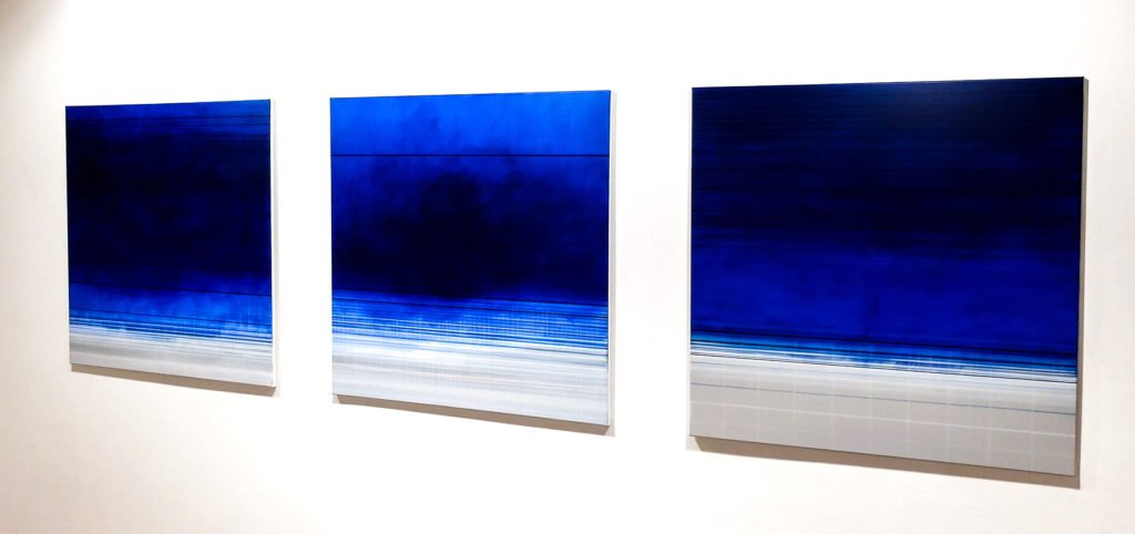 Untitled, Acrylic on canvas, 1mx1m, 4'000.- CHF