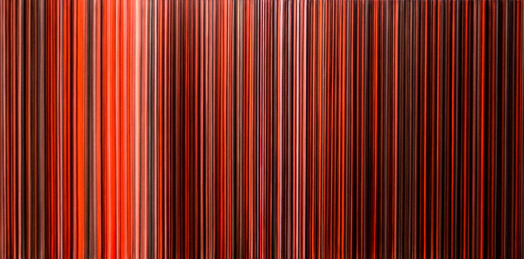 Jean Scheurer, Untitled, Acrylic on canvas, 100x120cm, 4'500.- CHF