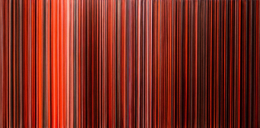 Untitled, Acrylic on canvas, 100x120cm, 4'500.- CHF