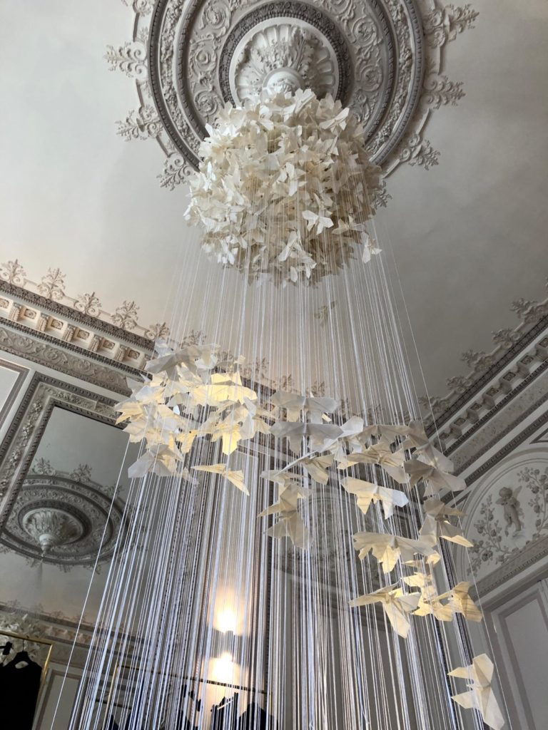 A wish on a wing, Sentôchô, Metropole Hotel, Monaco, Mulberry Paper, Nylon, Price on request.