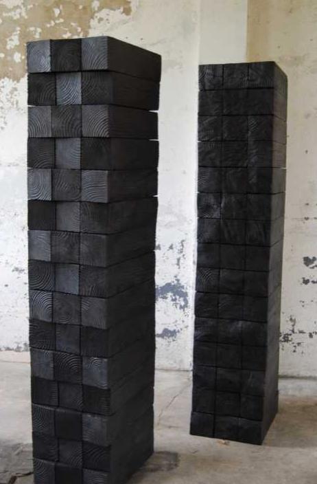 Blocs, Douglas, 180x33x45cm, 2013