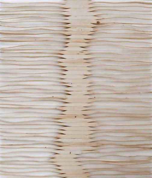 Untitled, Bas-relief, Fir, 190x150cm, 2013