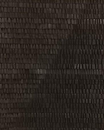 Mireille Fulpius, Panneau en bois sculpté, Encre de Chine, 40x30cm, 1'500.- CHF